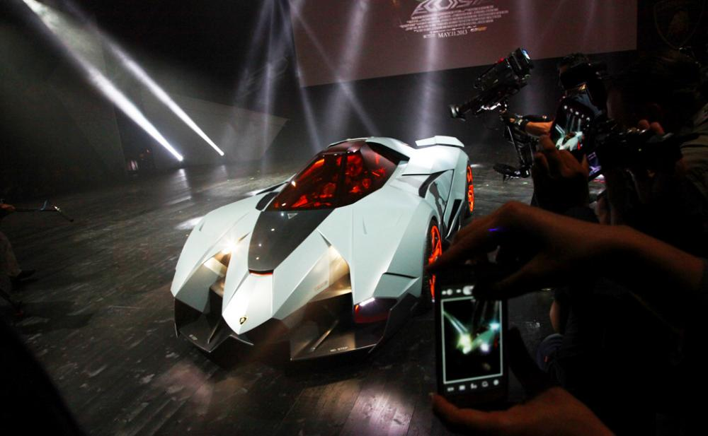 Lamborghini Egoista Tutti I Dettagli Automobilismo