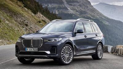 BMW X7: una SUV in stile americano