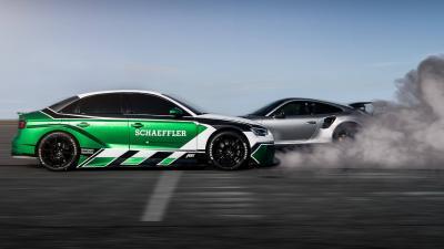 Schaeffler: come in retro ti batto una Porsche GT2 RS