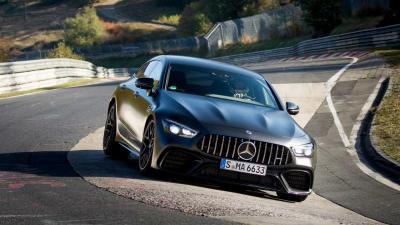Mercedes-AMG GT Coupé4: è lei la quattro posti più veloce