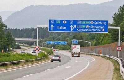 Austria: in autostrada con un'auto elettrica il limite di velocità sarà più alto
