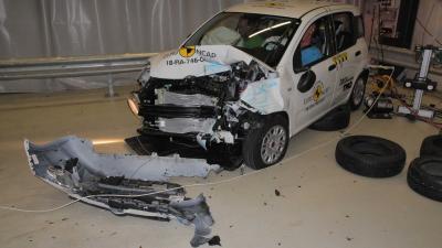 Crash test Euro NCAP: molto male Fiat Panda e Jeep Wrangler