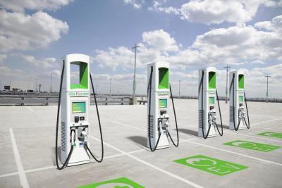 In California installata la prima colonnina da 350 kW