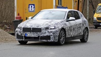 BMW Serie 1 2019: manca poco... all'anteriore