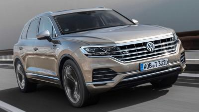 Volkswagen Touareg V8 TDI: a tutto diesel