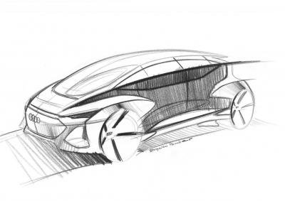 Audi AI:me concept, svelati i primi sketches