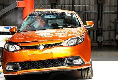 Sorpresa: la auto cinesi inziano ad essere sicure
