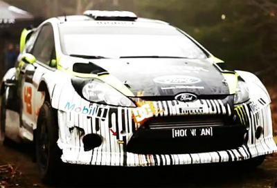 Sport: Ken Block testa la Ford Fiesta RS WRC