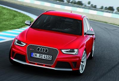 Audi RS4 Avant 2012 , nuove foto