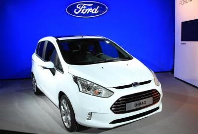 Ford B-Max, nuove foto e video