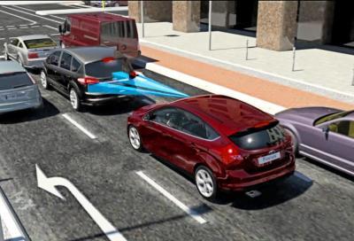 Ford B-Max e la frenata automatica in città