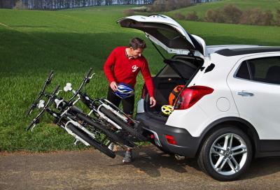 Opel Mokka con portabici integrato FlexFix
