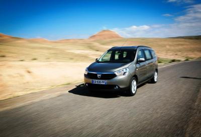 Lodgy , la nuova monovolume Dacia