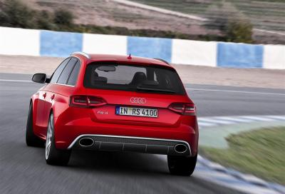 Audi RS 4 Avant, inizia la prevendita