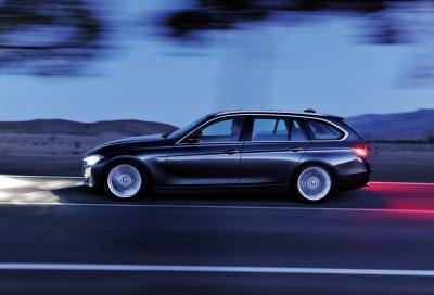 Nuova BMW Serie 3 Touring, prime impressioni