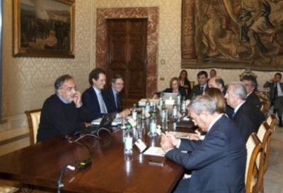 Incontro Fiat-Governo