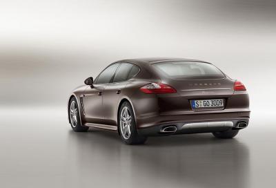 Porsche presenta la Panamera Platinum Edition