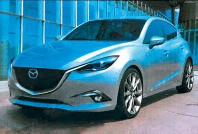 Mazda3 2013: le prime immagini