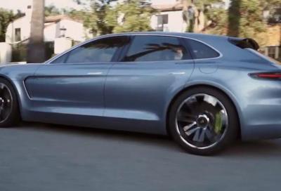 Porsche Panamera Turismo Sport: il primo video dinamico