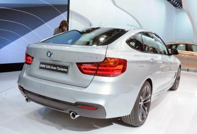 BMW, a Ginevra la nuova Serie 3 GT