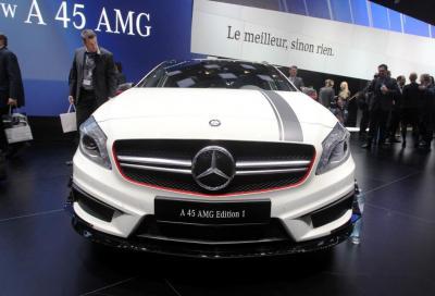 Mercedes AMG, la A 45 a Ginevra