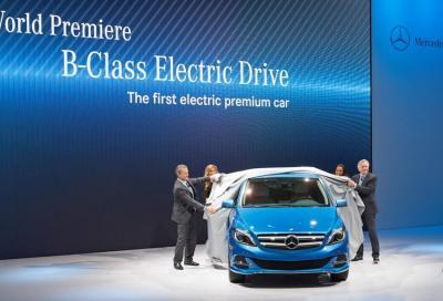 Mercedes, la Classe B diventa elettrica