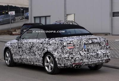 Audi A3 cabriolet 2014: svelata in un video spia