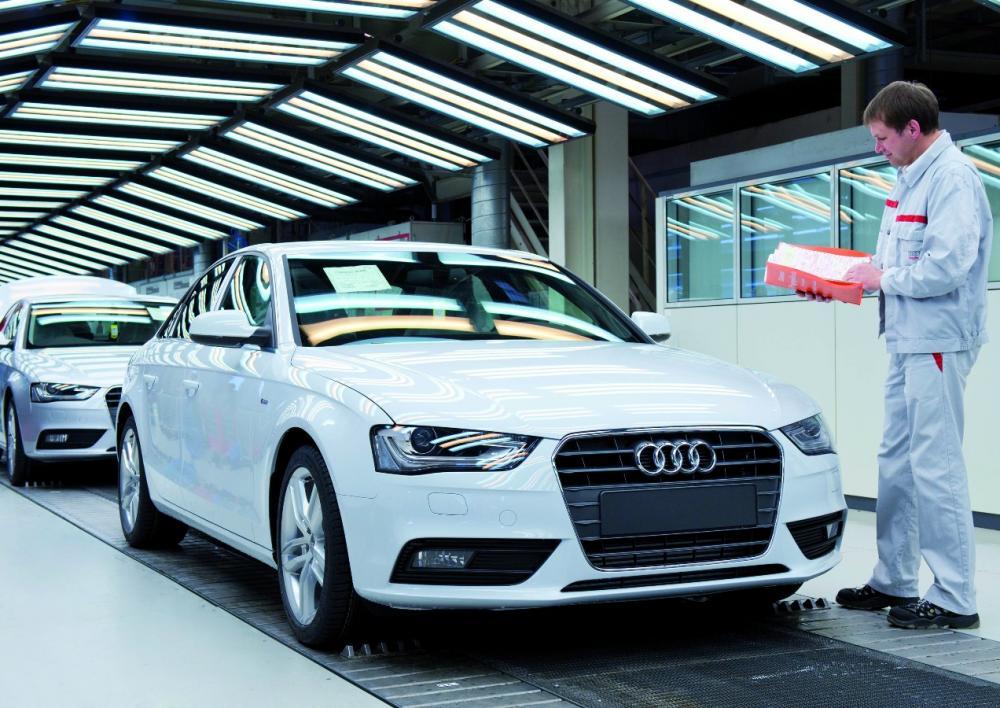Tecnica Audi Così Viene Assemblata La4 Automobilismo