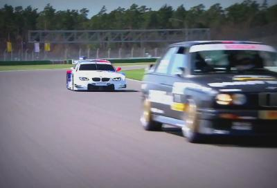 BMW, l' M3 DTM E30 contro l' M3 DTM E92