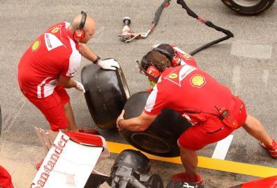 Pirelli, i test non hanno favorito nessun team