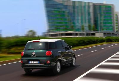 Fiat 500L Living: cinque posti più due (optional) e bagagliaio da primato