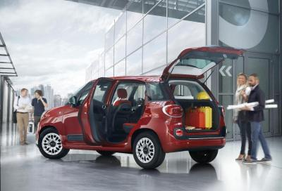 Fiat 500L Pro: l'utilitaria diventa... commerciale