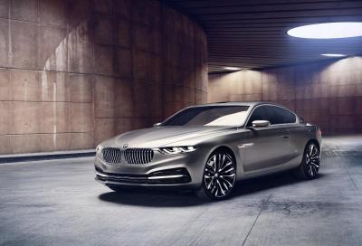 BMW, la Pininfarina Gran Lusso Coupé a Pebble Beach