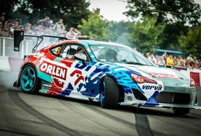 Il drift più veloce del mondo, 217 km/h