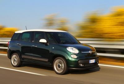 Fiat 500L Living, la connessione 4G è inclusa