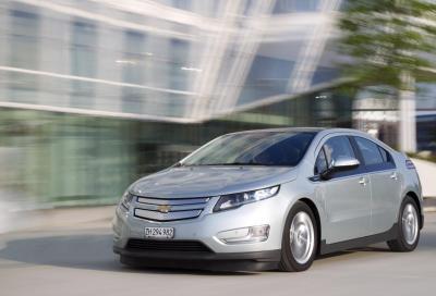 Chevrolet riduce il prezzo di Volt in europa