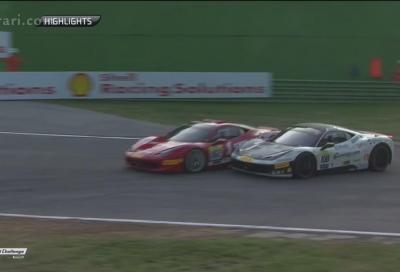 Ferrari Challenge Europa Imola , tutti gli Highlights in un video