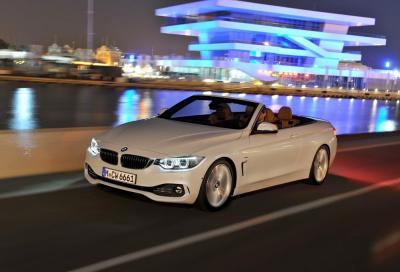 BMW, la nuova Serie 4 Cabrio