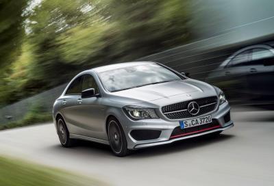 Novità Mercedes , tre compatte sportive con pacchetto Supersport