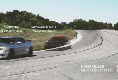 Chevrolet Camaro Z/28 o Ford Mustang 302 Laguna Seca: chi è il vero Boss ?