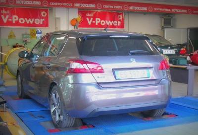 Nuova Peugeot 308 1.6 e-Hdi, prime impressioni e prove al banco