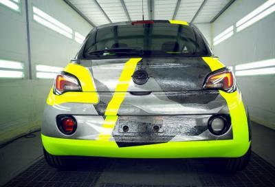 """Adam&Vale for charity"", una Opel Adam tutta speciale"