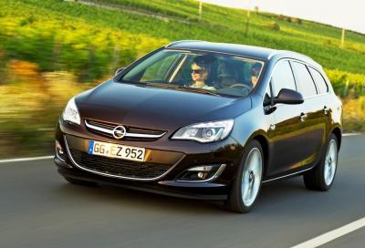 Opel Astra MY 2014, nuovo td e tecnologia IntelliLink