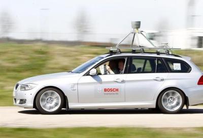 Bosch in crisi, fa le auto che si guidano da sole