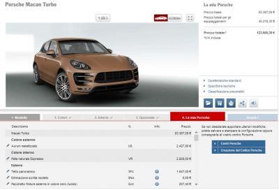 Quanto costa la Porsche Macan? Esagerando, si arriva a 123.665 euro