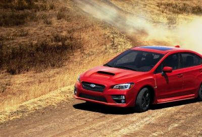 Subaru WRX 2015, oltre 20 anni di traverso