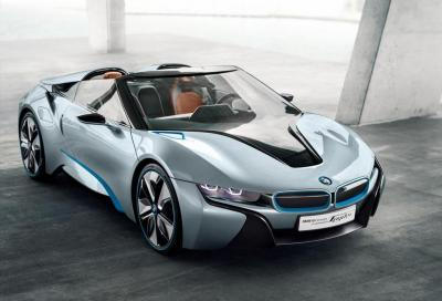 La BMW i8 Spyder sarà prodotta