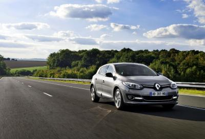 Renault Megane 2014, tecnologia di serie