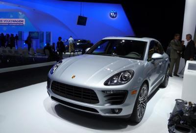 Porsche, a Detroit c'e' la Macan