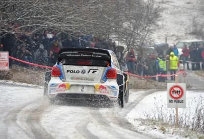 Ogier e la Polo R WRC trionfano al Rally di Monte Carlo 2014